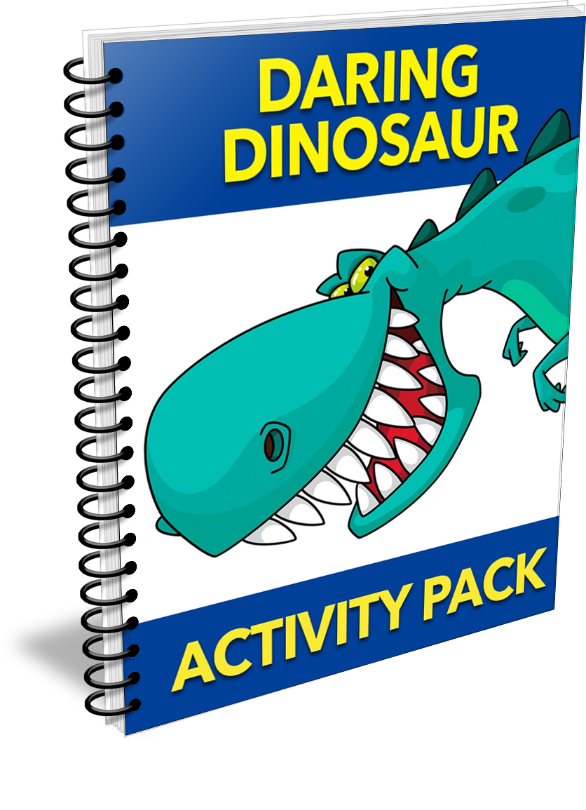 Daring Dinosaur Activity Pack with PLR by Shawn Hansen