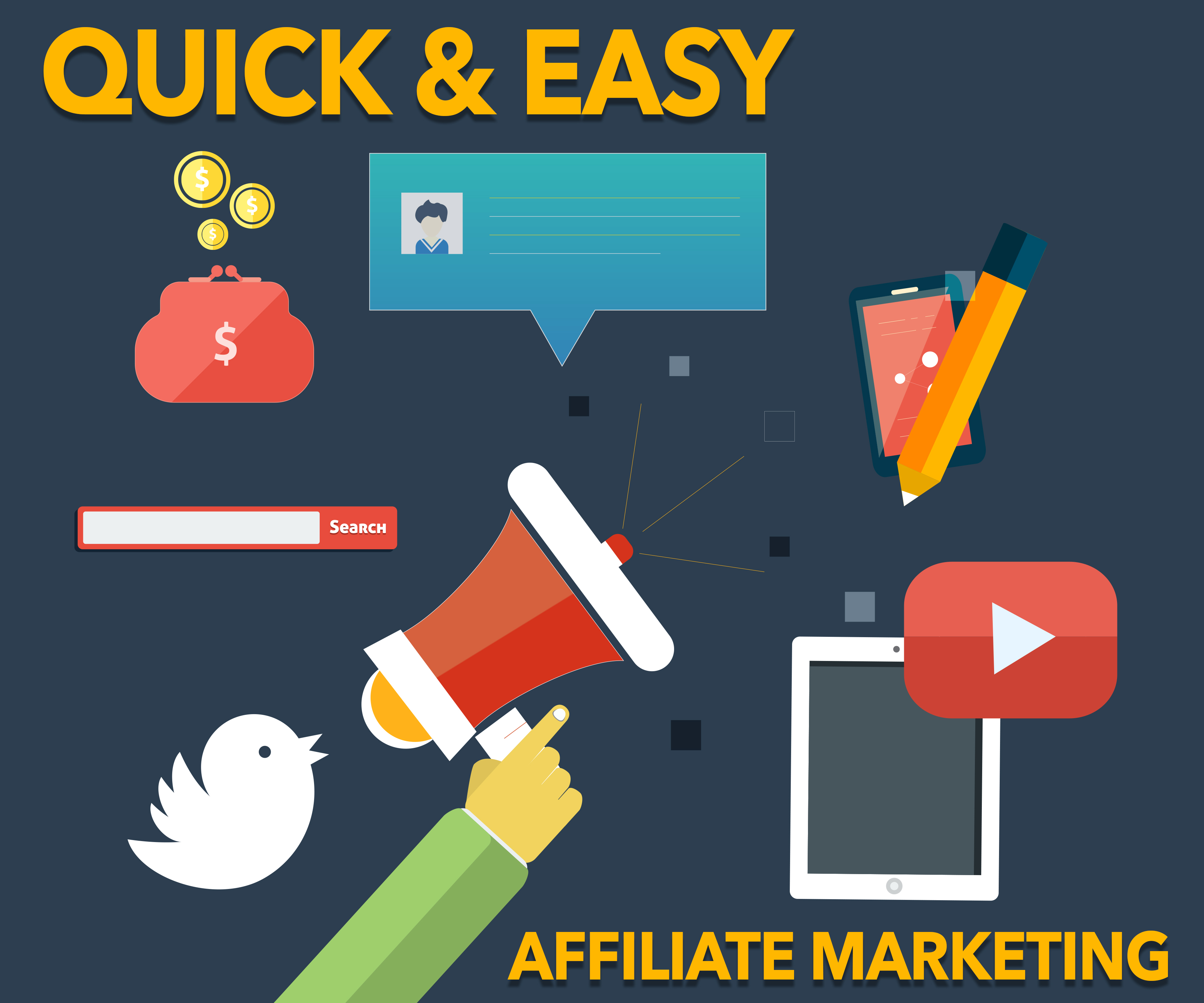 Quick & Easy Affiliate Marketing Presented by Shawn Hansen