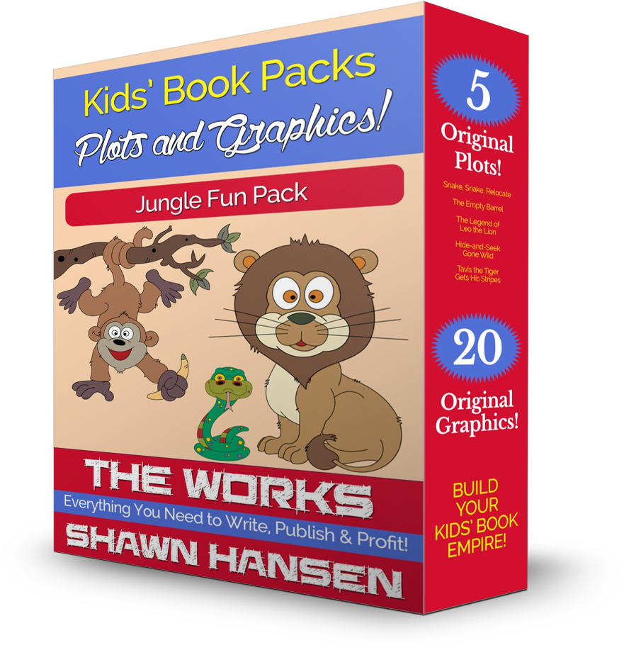 Jungle Fun Kids' Book Pack by Shawn Hansen