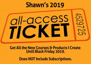 Shawn's 2019 All Access Ticket